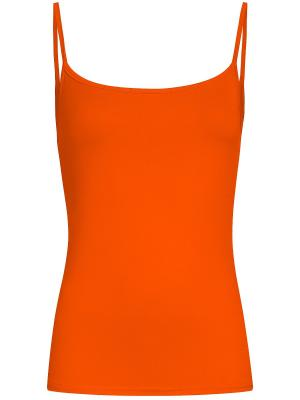 Топ Oodji. Цвет: оранжевый