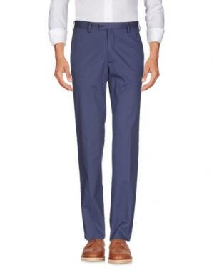 Повседневные брюки EREDI RIDELLI. Цвет: синий