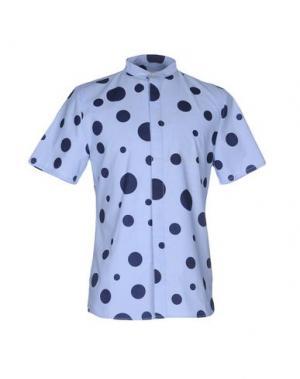 Pубашка RVLT/REVOLUTION. Цвет: небесно-голубой