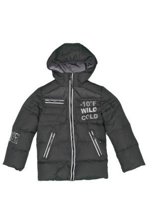 Куртка пуховая Arctic Goose. Цвет: каперс