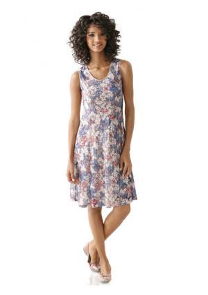 Платье Linea Tesini. Цвет: разноцветный