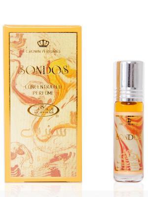 Арабские масляные духи Сондос (Sondos), 6 мл Al Rehab. Цвет: горчичный, кремовый
