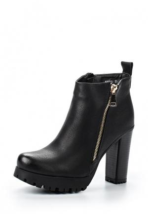 Ботильоны Fashion Women. Цвет: черный