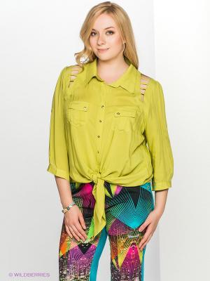 Блузка ARDATEX. Цвет: зеленый