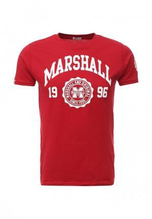 Футболка Marshall Original. Цвет: красный