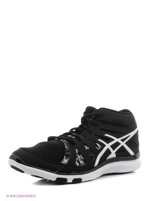 Спортивная обувь GEL-FIT TEMPO 2 MT ASICS. Цвет: черный, белый