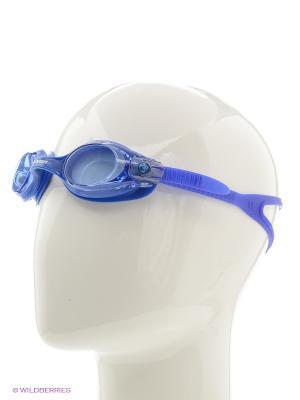 Очки плавательные S28 Larsen. Цвет: синий