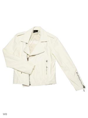 Куртка VipDressCode. Цвет: молочный