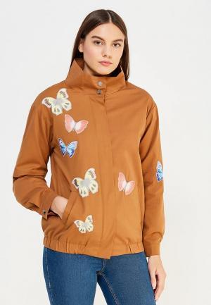 Куртка On Parle de Vous. Цвет: коричневый