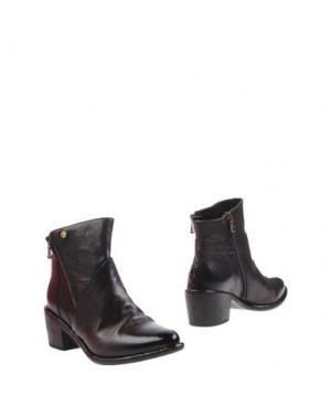 Полусапоги и высокие ботинки WEXFORD. Цвет: темно-коричневый
