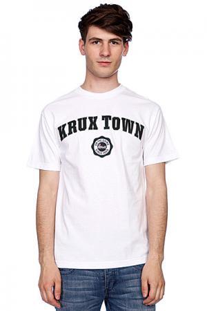 Футболка  K-Town White Krux. Цвет: белый