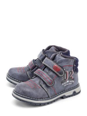 Ботинки Indigo. Цвет: синий