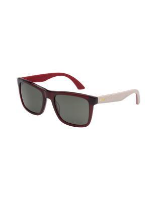Солнцезащитные очки Puma. Цвет: красный