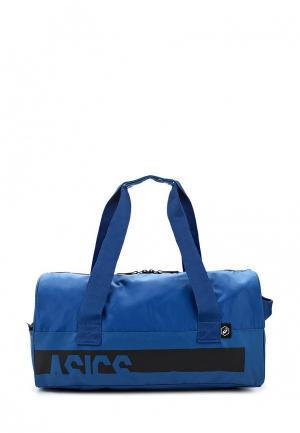 Сумка спортивная ASICS. Цвет: синий
