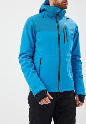 Куртка горнолыжная Brunotti. Цвет: голубой