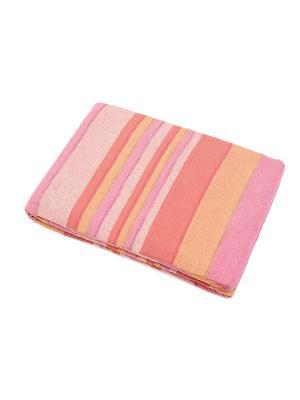 Покрывало ГАНГ. Цвет: бледно-розовый, бежевый, розовый