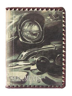 Обложка для документов Кажан. Цвет: коричневый