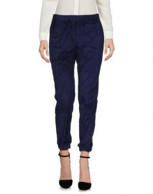 Повседневные брюки JIJIL. Цвет: темно-синий