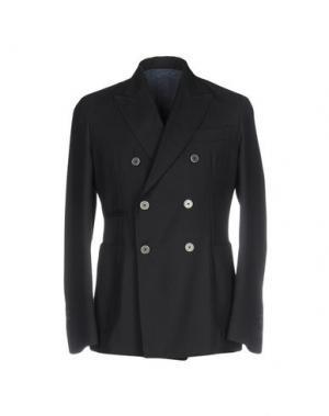 Пиджак JOHN SHEEP. Цвет: темно-синий