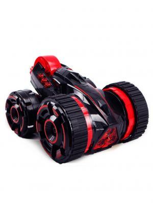 Машинка радиоуправляемая трюковая, 5 колес Blue Sea. Цвет: черный, красный