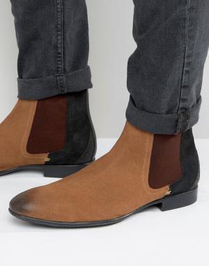 Dead Vintage Ботинки челси. Цвет: рыжий