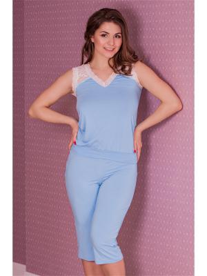 Комплекты одежды MONTI&FARR. Цвет: голубой