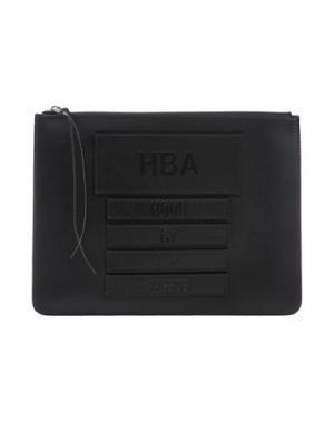 Сумка на руку HBA HOOD BY AIR. Цвет: черный