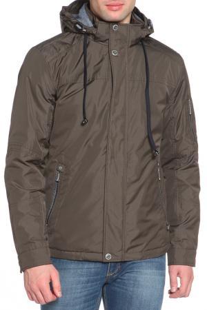 Куртка BLACK VINYL. Цвет: 21 темный хаки