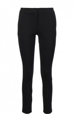 Облегающие брюки с боковыми карманами Diane Von Furstenberg. Цвет: черный