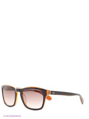Солнцезащитные очки LM 507 04 La Martina. Цвет: коричневый, оранжевый