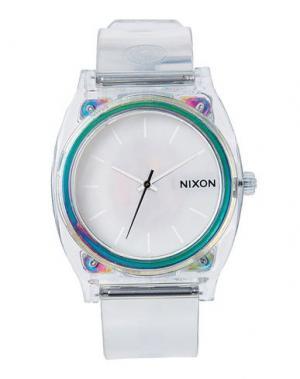 Наручные часы NIXON. Цвет: прозрачный