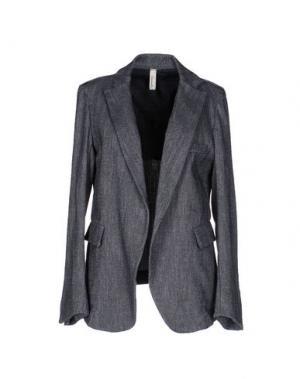 Пиджак SOUVENIR. Цвет: темно-синий