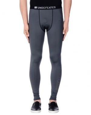 Повседневные брюки UNDEFEATED. Цвет: серый