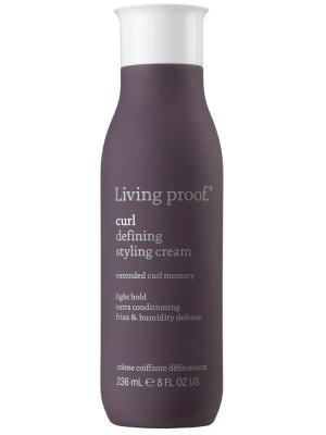 Крем-стайлинг для кудрявых волос Living Proof. Цвет: фиолетовый