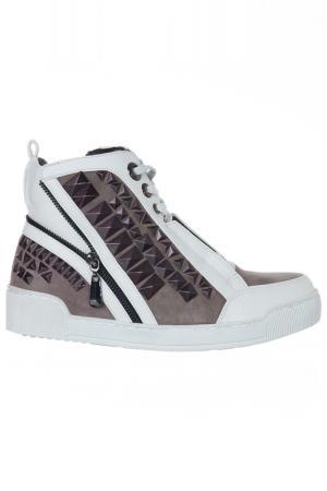 Ботинки Luciano Barachini. Цвет: taupe, white