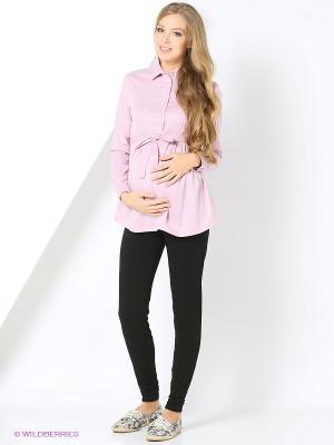 Блузка 40 недель. Цвет: розовый