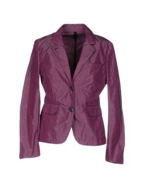 Пиджак AQUASCUTUM. Цвет: фиолетовый