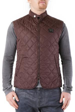 Vest HUSKY. Цвет: brown