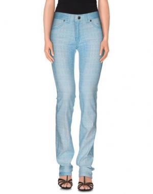 Джинсовые брюки MARANI JEANS. Цвет: лазурный