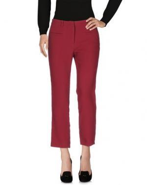 Повседневные брюки ...À_LA_FOIS.... Цвет: красно-коричневый