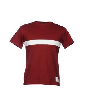 Футболка SPORTSWEAR REG.. Цвет: красно-коричневый