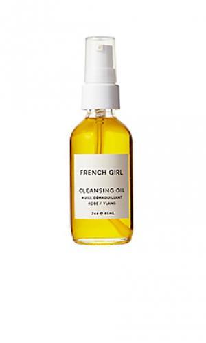 Масло для лица rose and ylang French Girl Organics. Цвет: beauty: na
