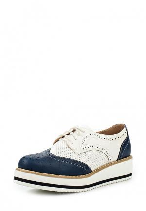 Ботинки Flyfor. Цвет: белый