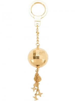 Брелок с шаром Louis Vuitton Vintage. Цвет: жёлтый и оранжевый