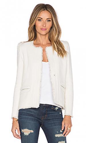 Куртка anglet IRO. Цвет: белый
