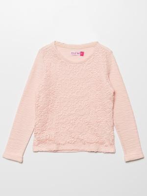 Джемпер SELA. Цвет: бледно-розовый