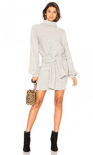 Платье свитер giovanna SAYLOR. Цвет: серый