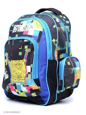 Рюкзак SPONGE BOB Centrum. Цвет: черный, салатовый, голубой, желтый