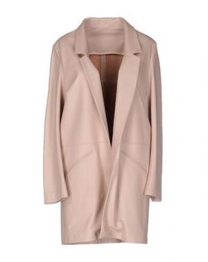 Легкое пальто ENES. Цвет: розовый