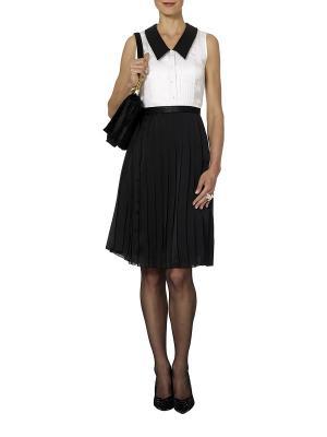 Платье APART. Цвет: черный, белый